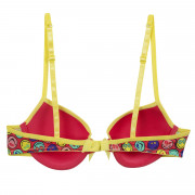 Soutien-gorge push moulé imprimé With Love by Smiley