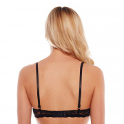 Soutien-gorge push-up noir/rouge Midnight