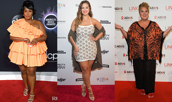 Morphologie en O : Lizzo, Ashley Graham, Marianne James