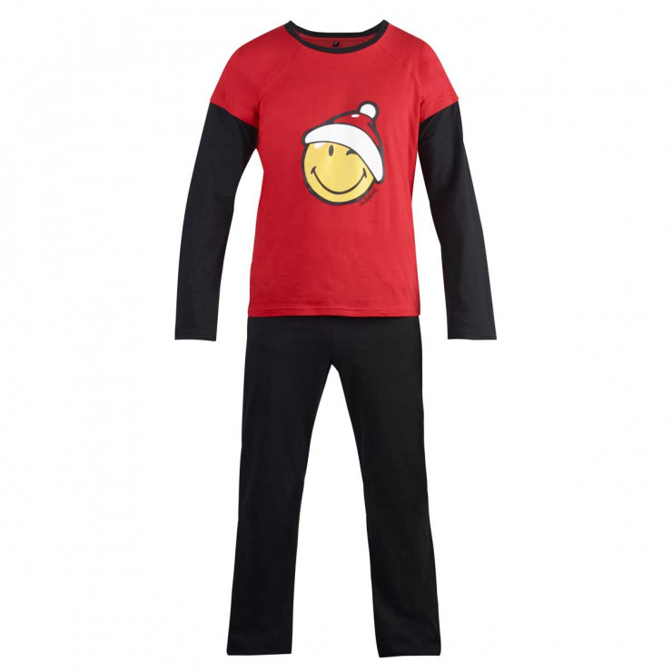 Pyjama manches longues Santa Night by Smiley - Pomm'Poire