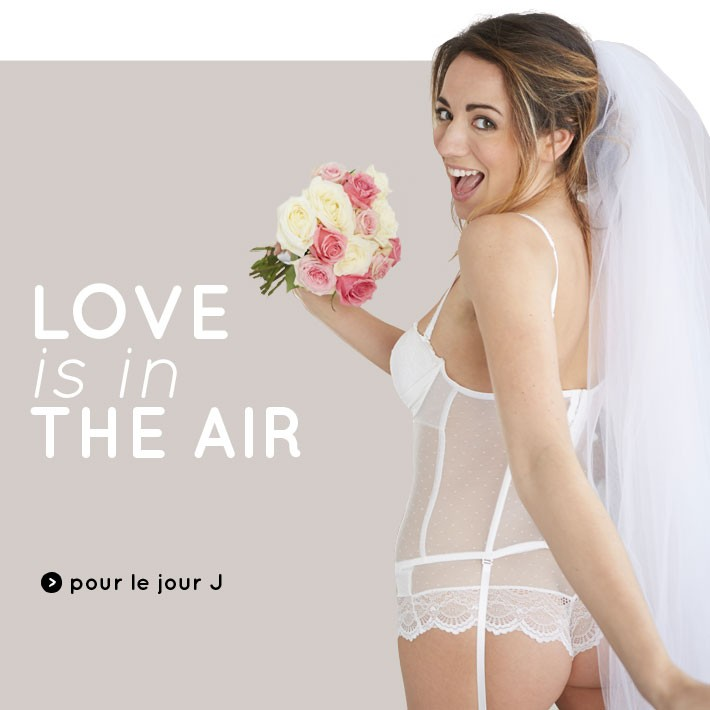 Gamme mariage : Love is in the air !