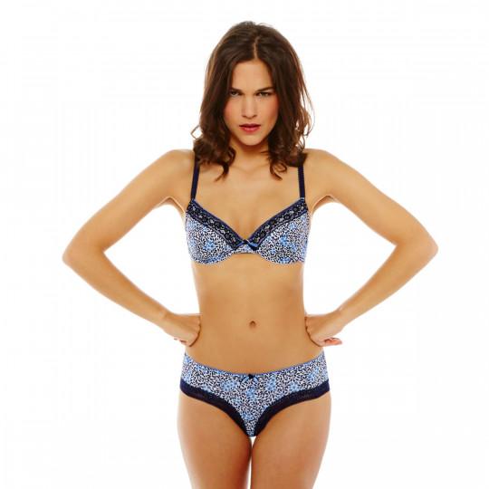 Soutien-gorge à armatures bleu/bleu électrique Limonade