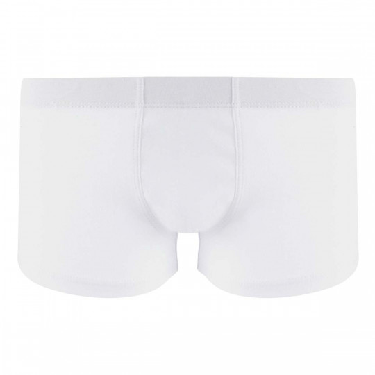 Lot de 2 boxers boy bleu ciel & blanc Cool Plain by Djembé - vue 0