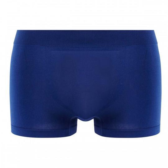 Lot de 2 boxers bleu nuit & rayé bleu/ rouge Seamless - vue 2