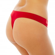 String rouge/crème Miam