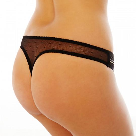 String noir/crème Crâneuse - vue 2
