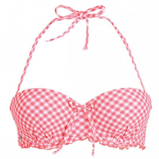 Haut de maillot balconnet corail Saint-Trop by Brigitte Bardot