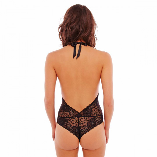 Body tanga noir Unique