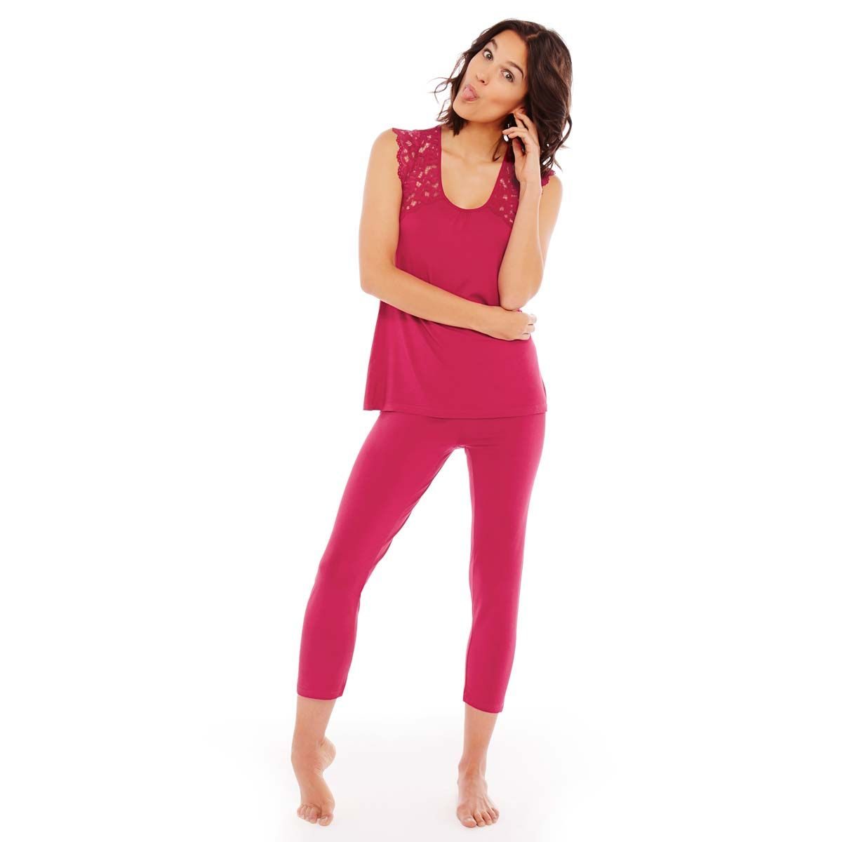 Pyjama framboise Paradoxe - Pomm'Poire - Modalova