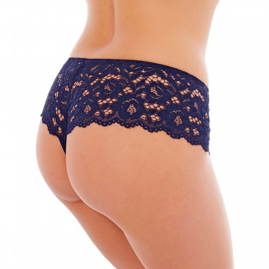 Shorty string denim Paradoxe - vue 2