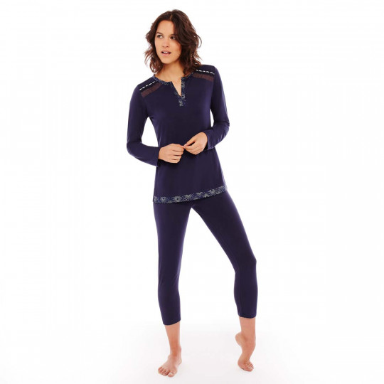 Pyjama denim/argent Imprésario