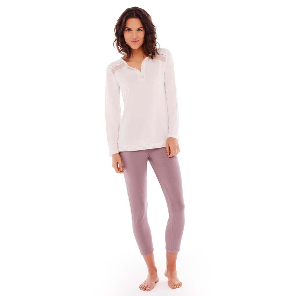 Pyjama ivoire/cuivre Imprésario - Pomm'Poire - Modalova