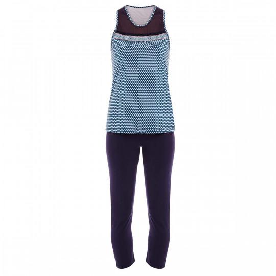Pyjama denim/turquoise Frozen - vue 0