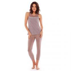 Pyjama noisette/prune Frozen