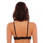 Soutien-gorge corbeille bonnets B, C et D noir/crème Fashion Alert