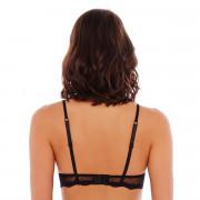Soutien-gorge ampliforme push moulé noir/crème Fashion Alert