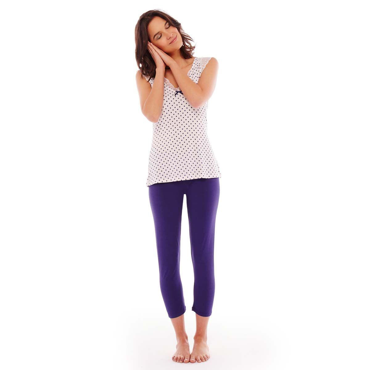 Pyjama ivoire/indigo Blabla - Pomm'Poire - Modalova