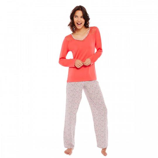Pyjama grenadine/ivoire Amstramgram