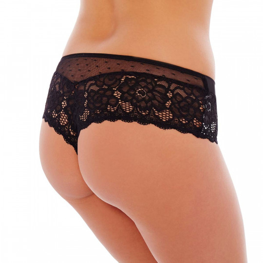Shorty tanga noir Alibi