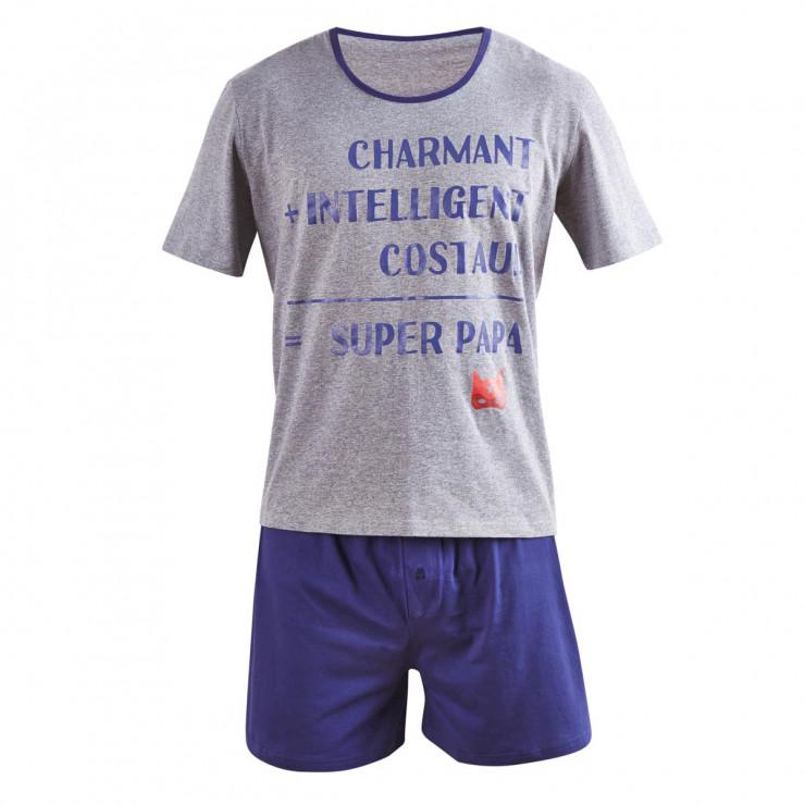 Pyjama court Super Papa