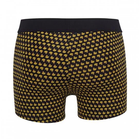 Boxer noir/jaune Duck - vue 2