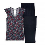 Pyjama noir/rouge Nana