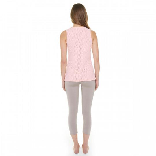 Pyjama poudre/cuivre Flamingo - vue 3