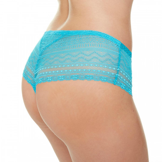 Shorty string turquoise Marelle - vue 2