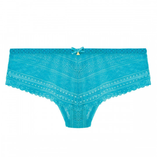 Shorty string turquoise Marelle - vue 0