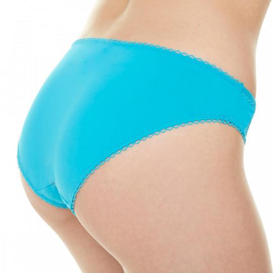 Slip turquoise Sirène - vue 2