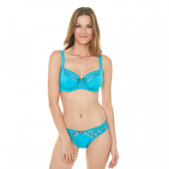 Slip turquoise Sirène - vue 3