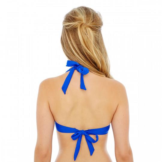 Haut de maillot balconnet bleu roi Mambo by Brigitte Bardot