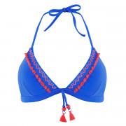 Haut de maillot triangle bleu roi Mambo by Brigitte Bardot