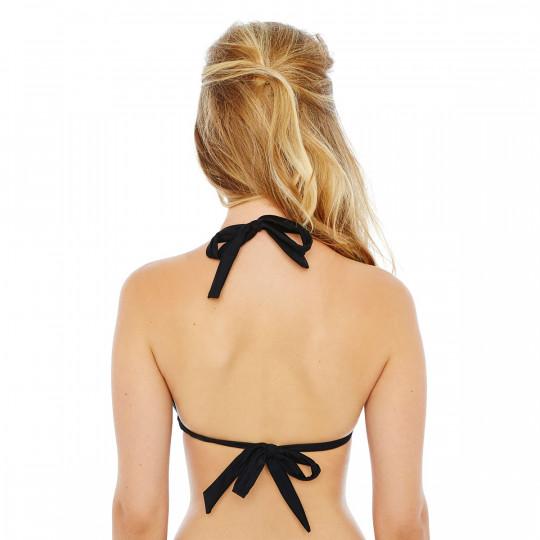 Haut de maillot triangle noir/or Riviera by Brigitte Bardot - vue 2