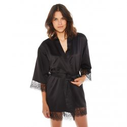Kimono noir Dallas
