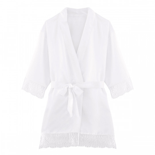 Kimono ivoire Dallas - vue 0