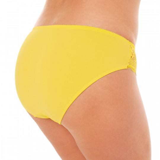 Slip jaune Elena - vue 3