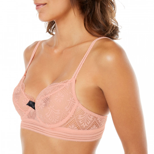 Soutien-gorge corbeille terracotta Love Power
