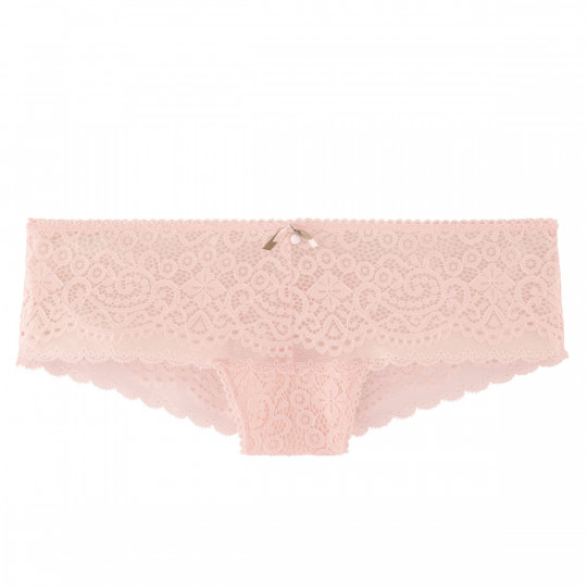 Shorty tanga rose poudre Tapageuse - vue 0