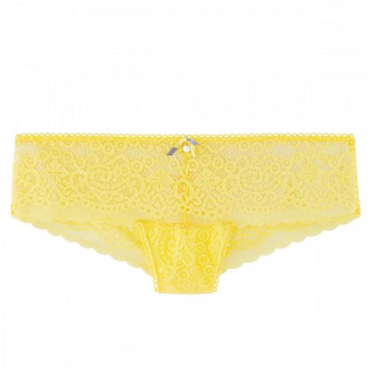 Shorty tanga  jaune Tapageuse - vue 0