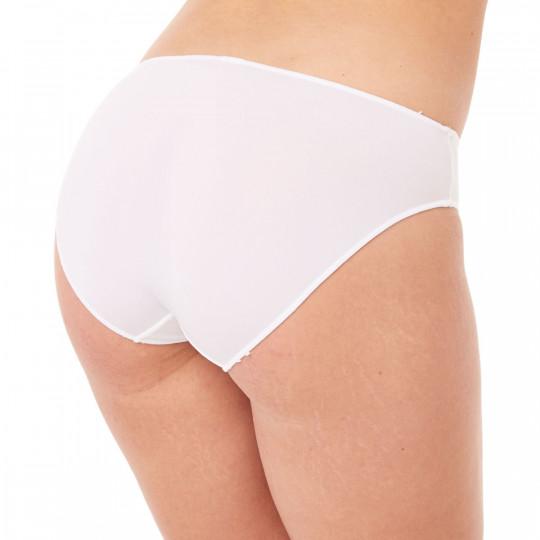 Culotte microfibre blanche - vue 3