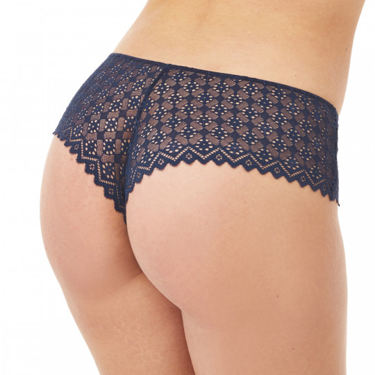 Shorty tanga bleu Culottée