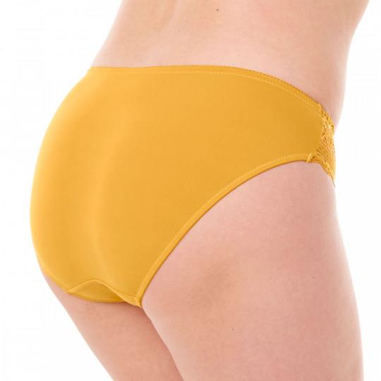 Culotte jaune moutarde Elena - vue 2