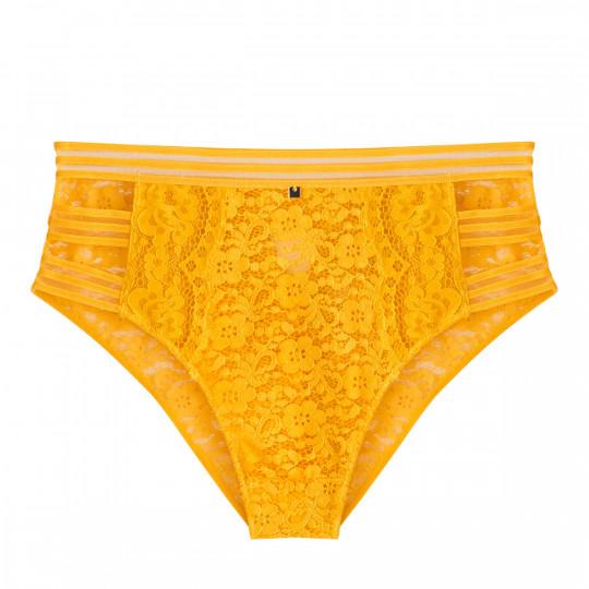 Culotte haute jaune Pétillante - vue 0