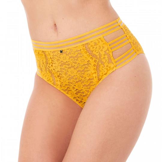 Culotte haute jaune Pétillante - vue 1