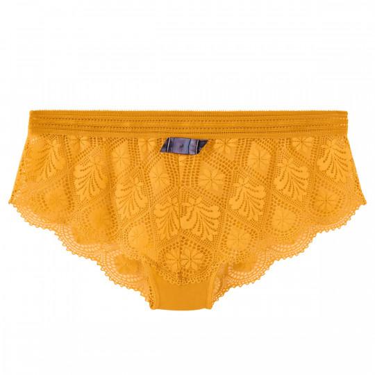 Shorty jaune Love Power