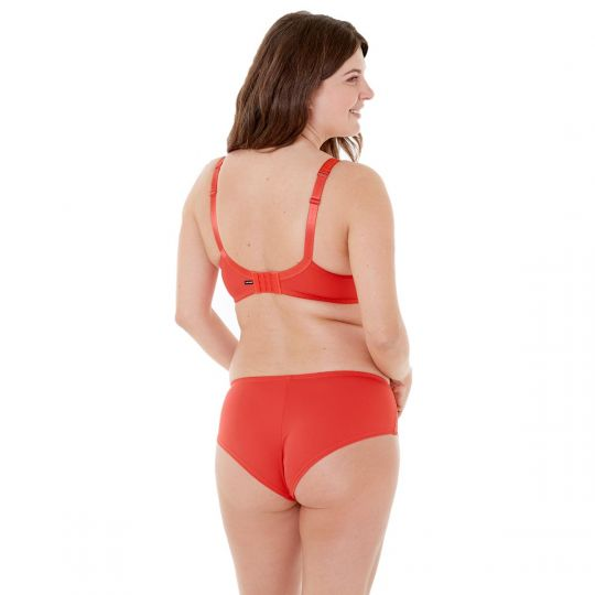 Soutien-gorge grand maintien C, D et E orange Elena