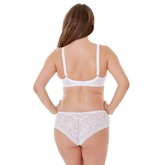 Soutien-gorge grand maintien C, D et E blanc Check-In