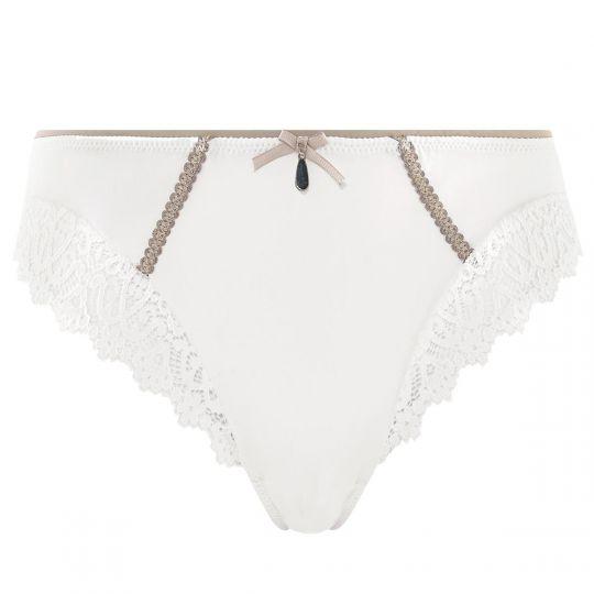 Culotte ivoire/taupe Edition Limitée - vue 0
