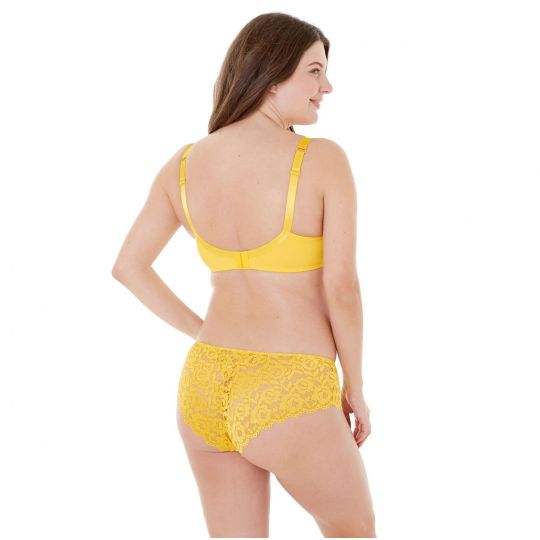 Soutien-gorge grand maintien bonnets C à F jaune Paradoxe - vue 3
